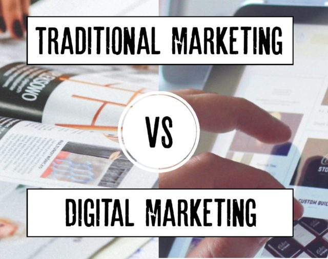 Traditional vs Digital Marketing: What is the difference?